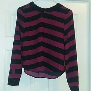 ** 5 for $25 ** Striped blouse